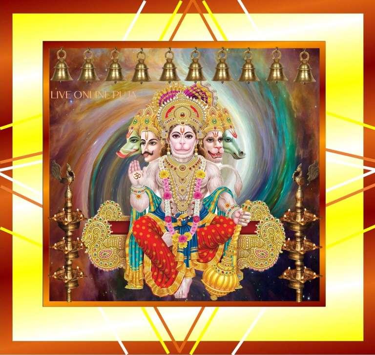 Panchamukhi Hanumanji Sunderkand Path for Hanuman Ji