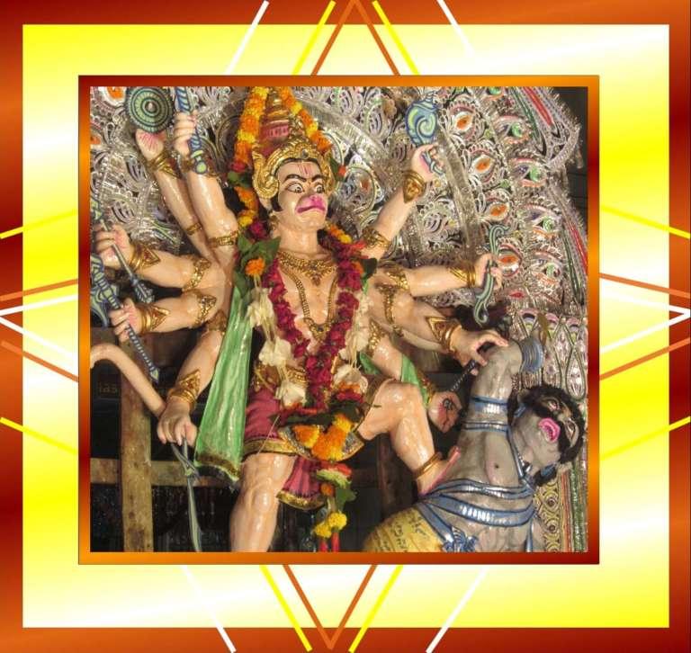 Hanuman Chalisa Picture of Panchmukhi Hanumanji