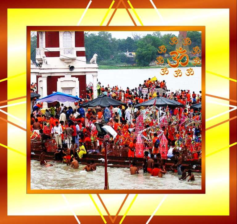 Kanwar Yatra in Shravan month sawan