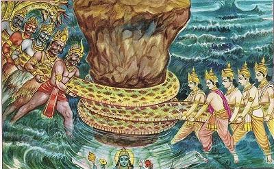 Samudra-Manthan and Emergence of Mahalakshmi