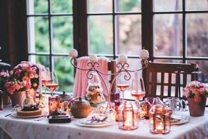 Dinner Table - Modern Day Grah Pravesh Celebration