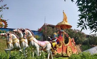 Lord Krishna and Arjuna Idol
