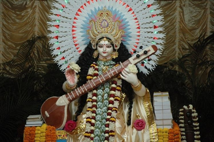 Maa Saraswati Puja Murti