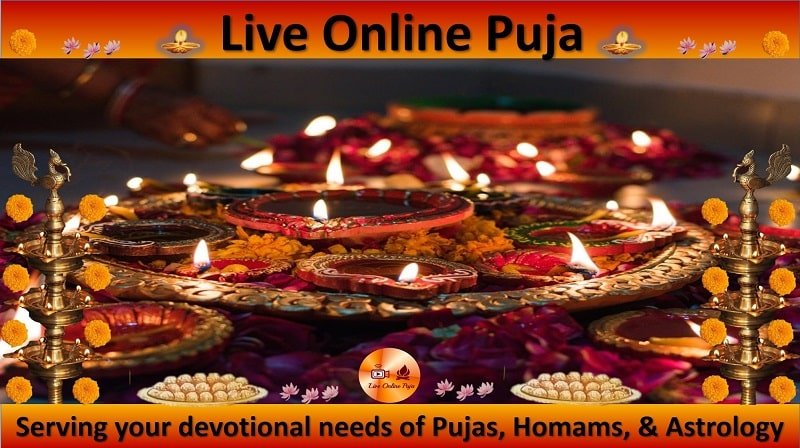 live online puja