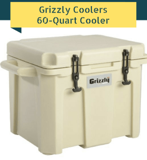 Grizzly Coolers 60-Quart Cooler