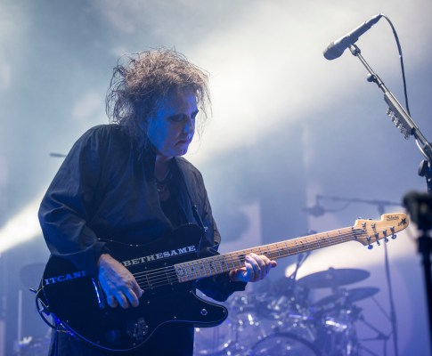 The Cure – Lyon, Halle Tony Garnier – 17 novembre 2016