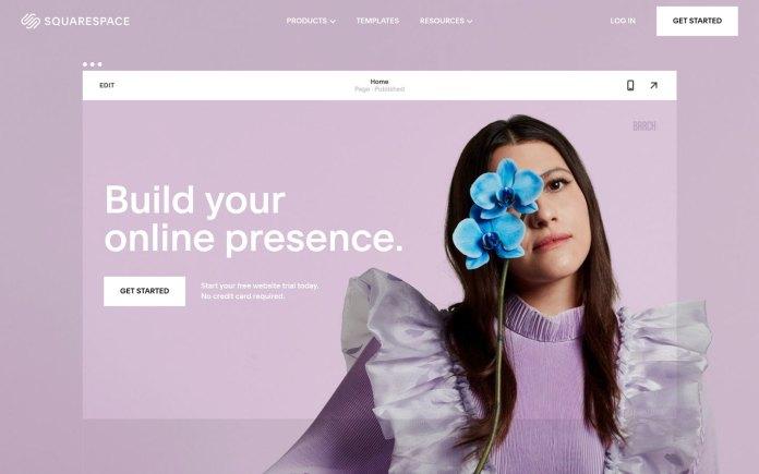 Squarespace eCommerce platform