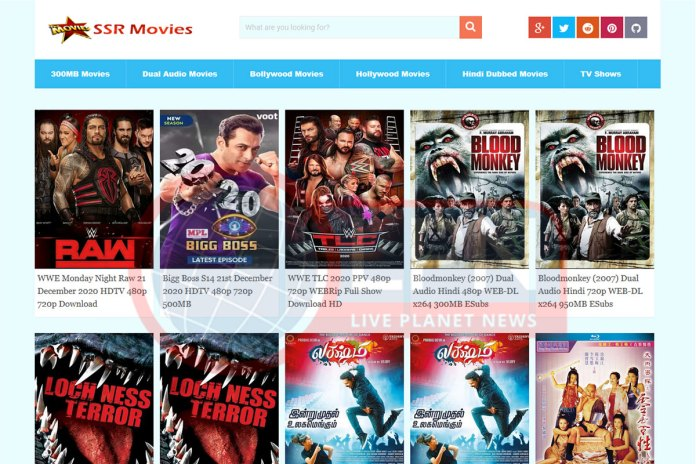 SSR Movies Hollywood & Bollywood HD Movies Download Torrent Website