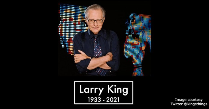 Larry King dies at the age of 87