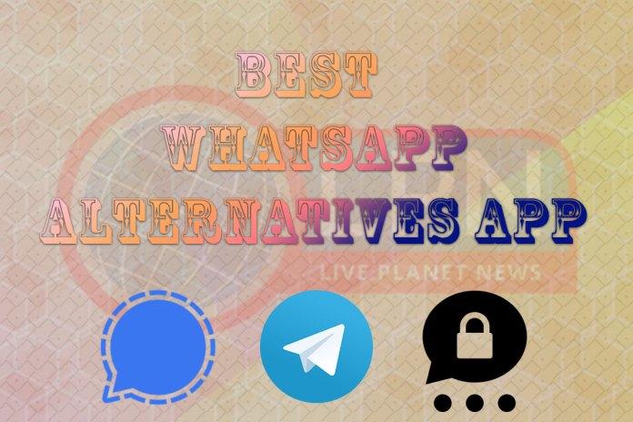 Best WhatsApp Alternatives Apps in 2021