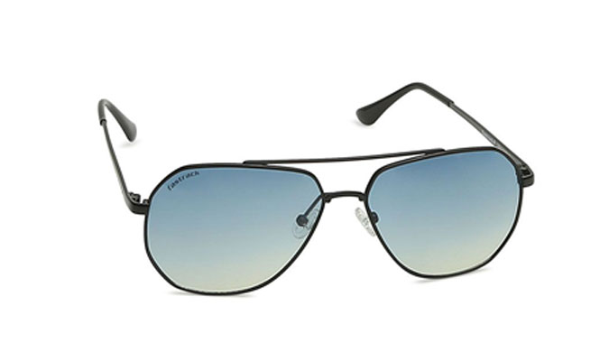 Black Aviator Fastrack Unisex Sunglasses