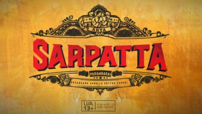 Sarpatta Parambarai Tamil Movie Download