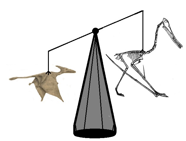 weighing live pterosaurs against universal extinctions of all their species