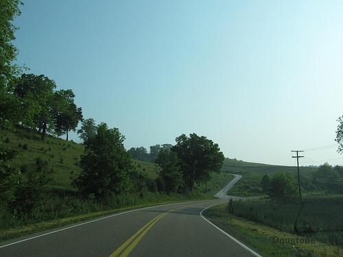 highway in rural Virginia