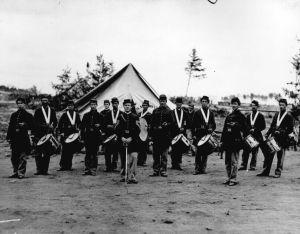 fifteen Civil War soldiers