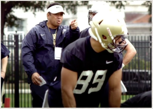 "LDS American football coach in movie ""Meet the Mormons"""
