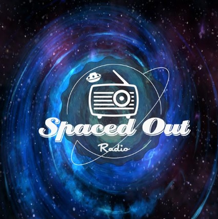 "Logo for the podcast ""Spaced Out Radio"""