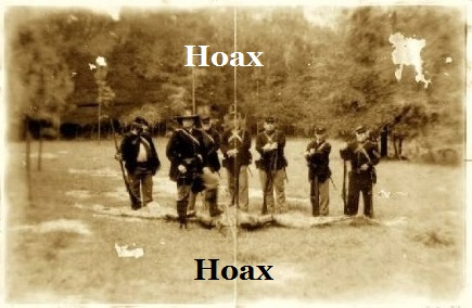 hoax photo from a TV episode