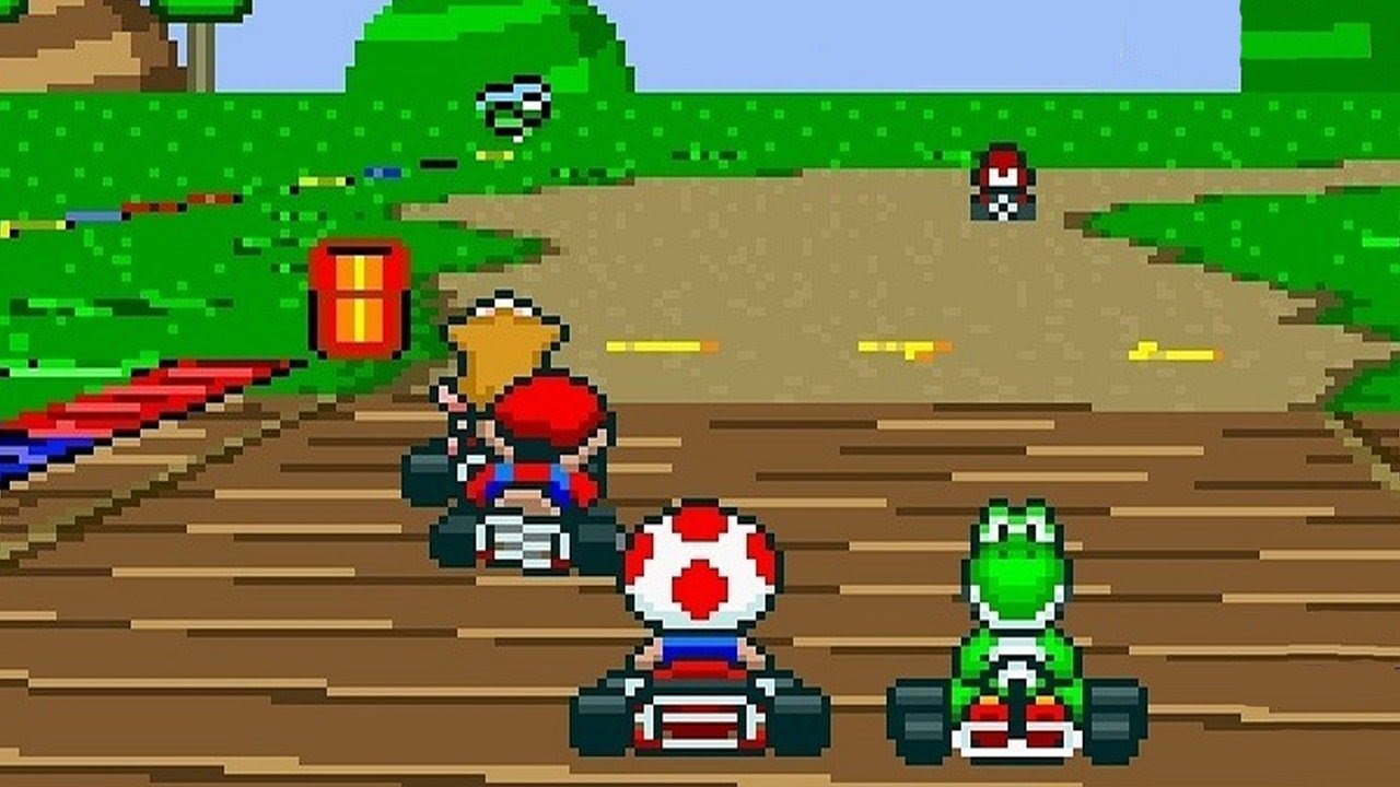 Resultado de imagen de Super Mario Kart