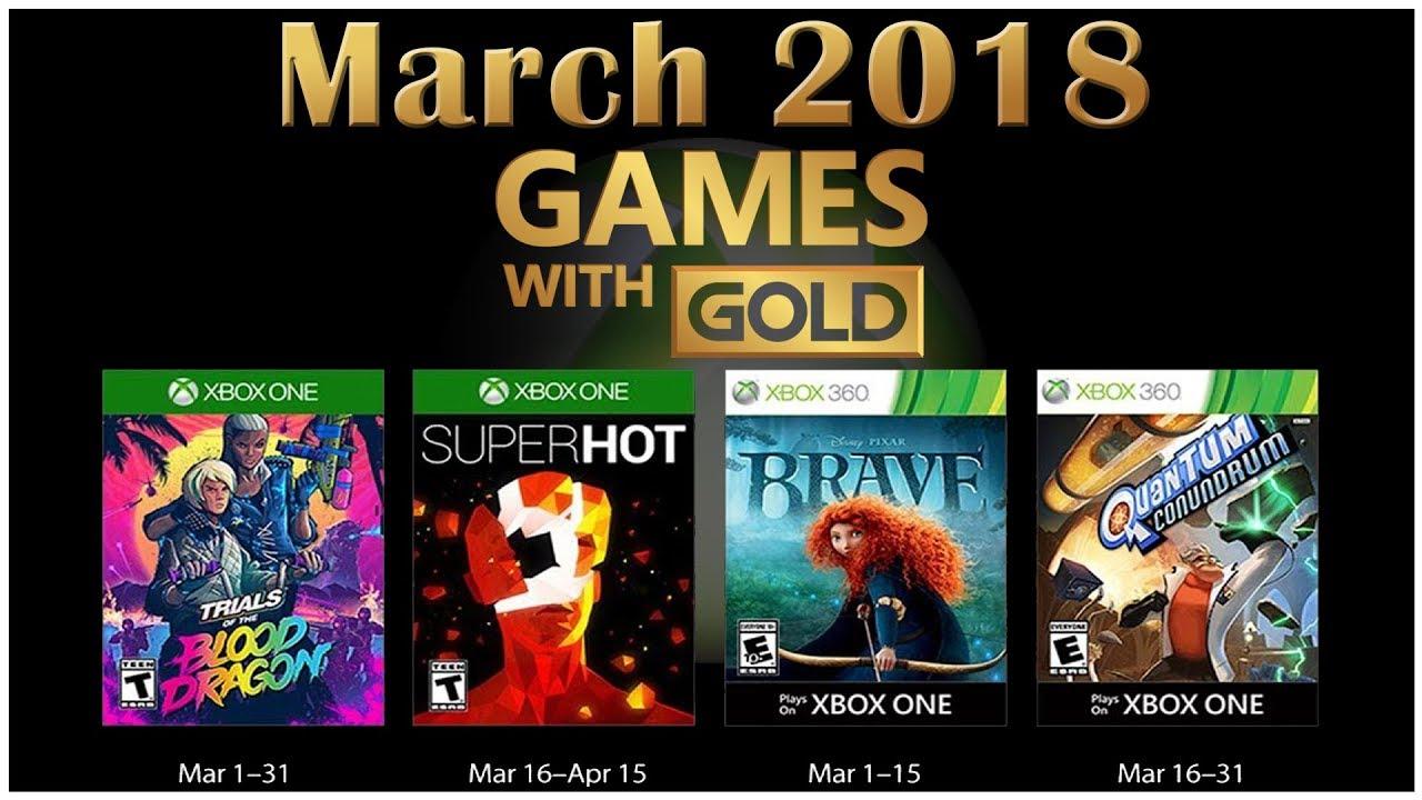 Juegos Gratis De Xbox Live Gold Marzo 2018 Liverarte Tecnologia