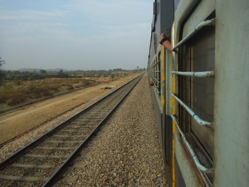 Overnight train travel Asia
