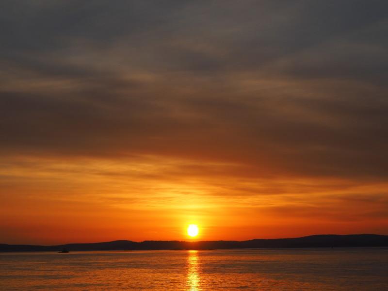 Most beautiful sunset from Washington Park