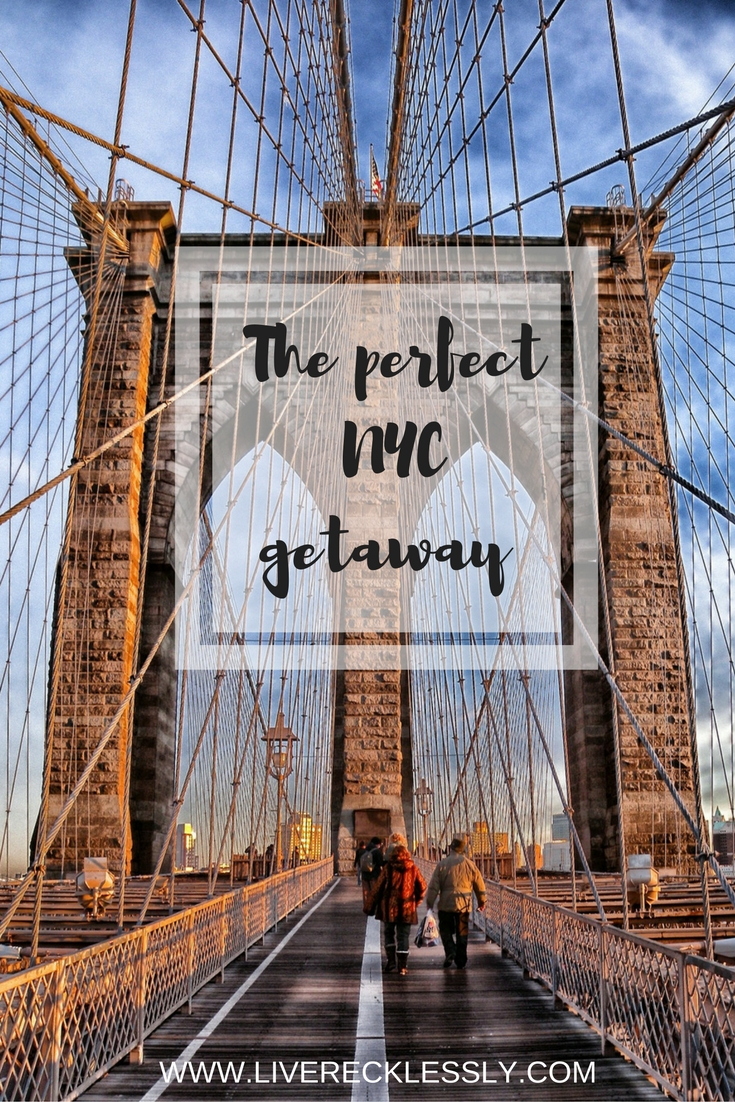 NYC is one of the world's most exciting cities. With so much to do and see, I've put together my favourites so you can have the perfect getaway! / #NYC #USA Read more: www.liverecklessly.com