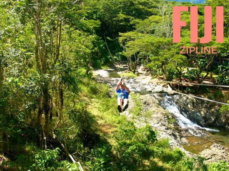 Zipline Fiji - LiveRecklessly.com