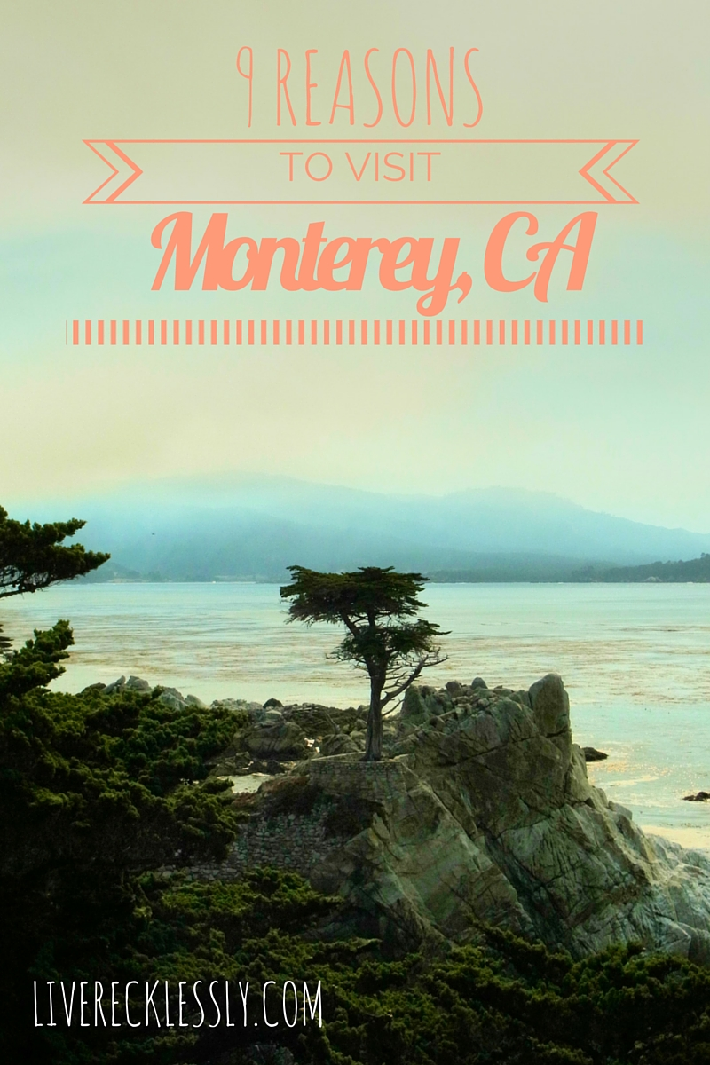 9 Reasons to visit Monterey on your California road trip - LiveRecklessly.com