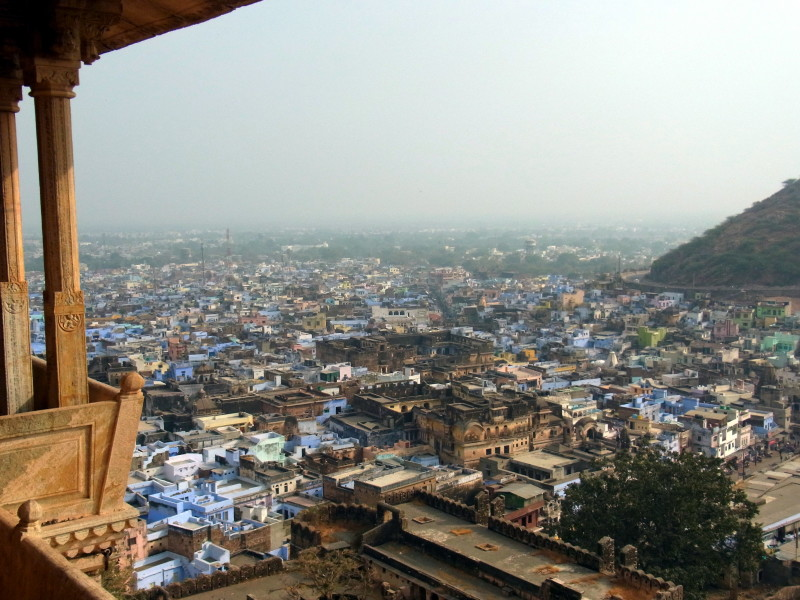 India in Photos: the view of Bundi town from the top of Garh Palace - LiveRecklessly.com