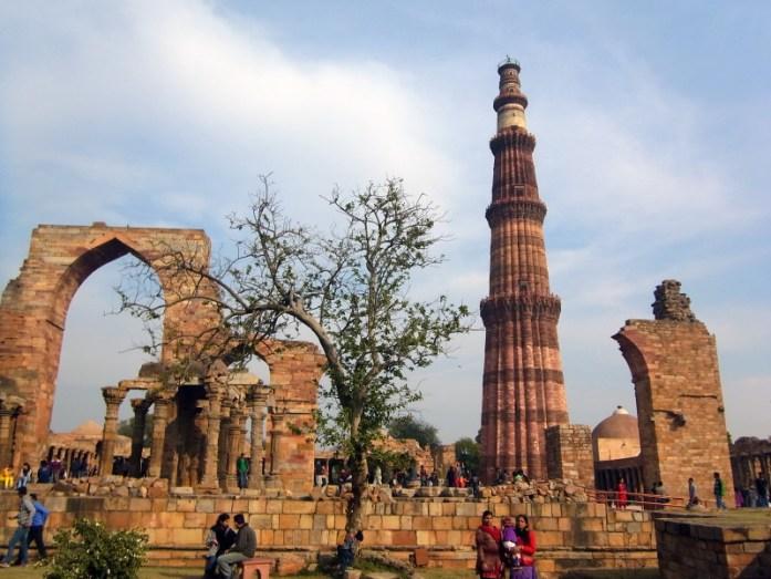 India in Photos: Delhi's Qutb Minar - LiveRecklessly