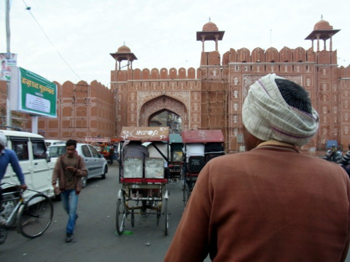 India in photos: Bicycle rickshaw in Jaipur, India - LiveRecklessly.com