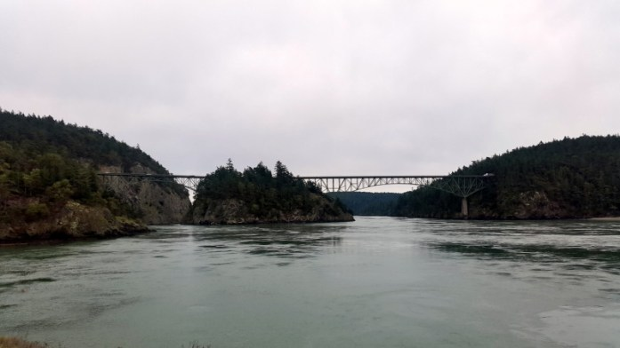 Expat Escapades February 2016 - Deception Pass Bridge from Fidalgo Island - LiveRecklessly