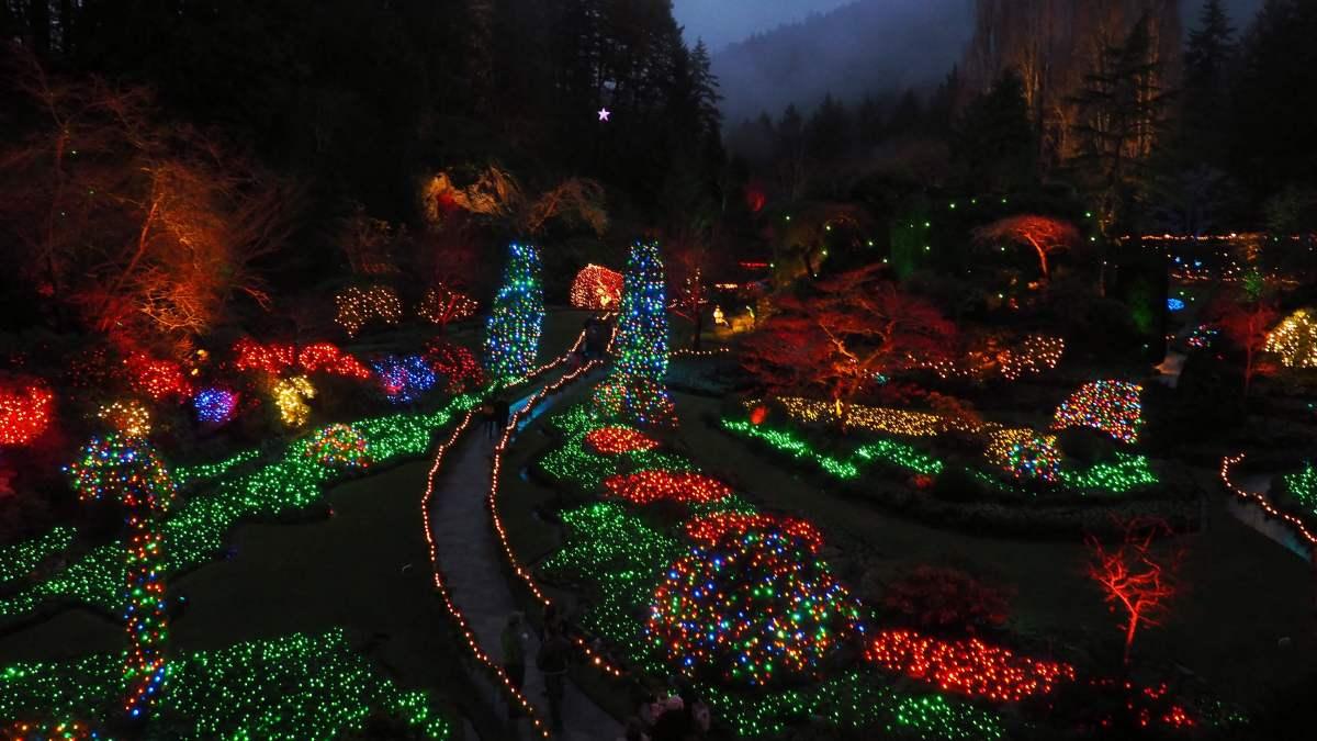 Expat Escapades December - Vancouver Island Butchart Gardens - Live Recklessly