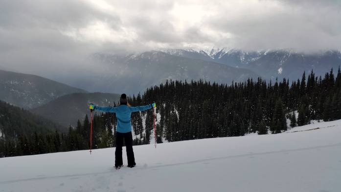 Snowshoeing in Olympic National Park - Winter getaways in Washington - Live Recklessly