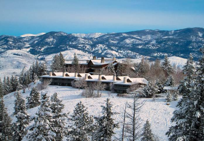 Sun Mountain Lodge - winter getaways in Washington - Live Recklessly