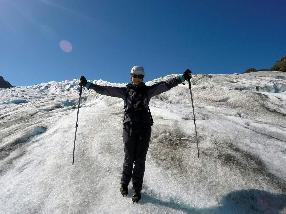 Alaska in Photos - Hiking on Exit Glacier near Seward - Live Recklessly