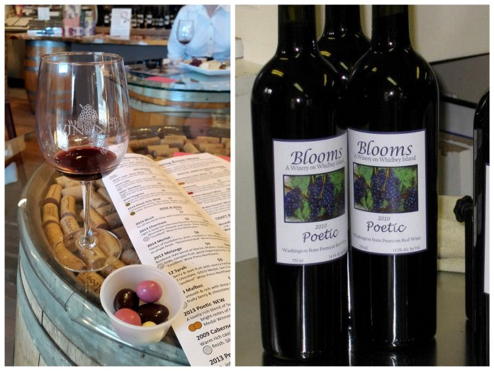 Blooms Winery - Red wine and chocolate overload on the Whidbey Island Wine Trail - LiveRecklessly.com