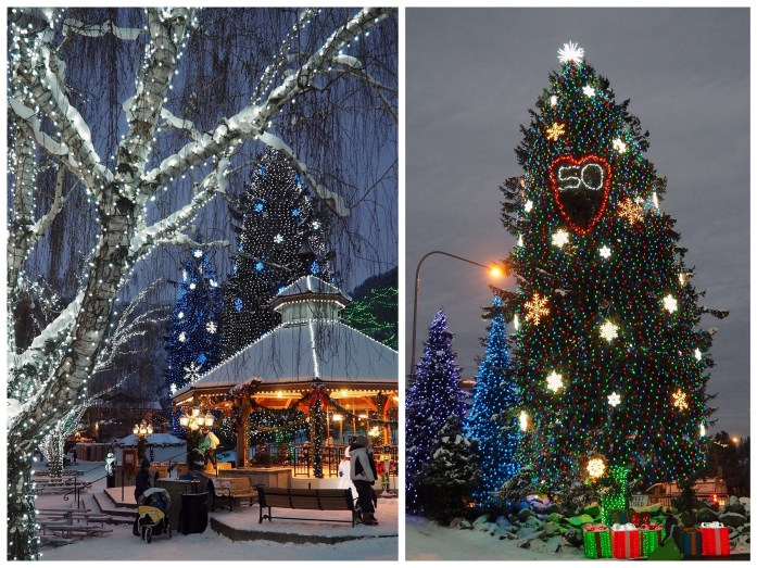 Christmas lights on A winter escape to Leavenworth, Washington - Live Recklessly
