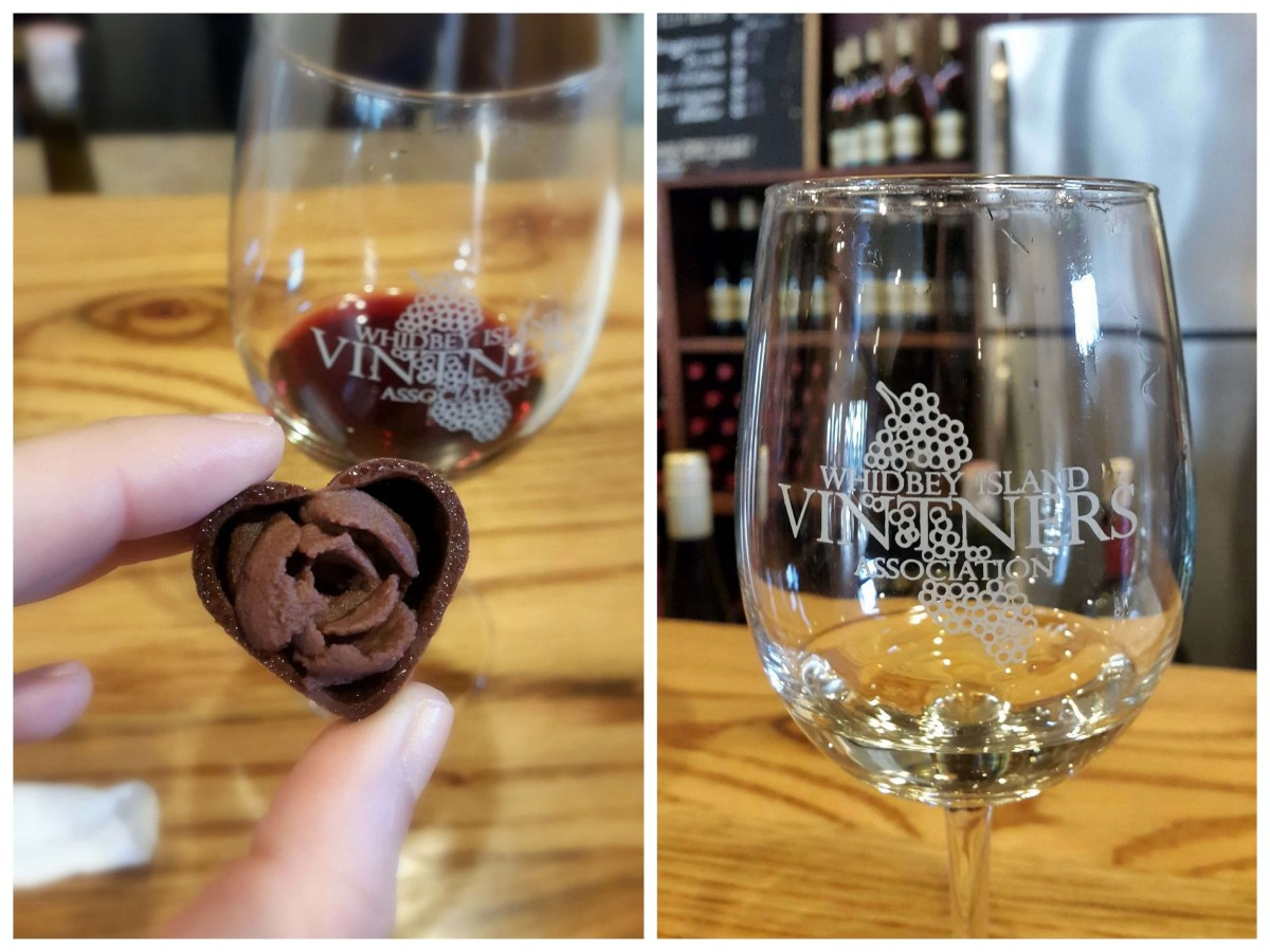 Red wine and chocolate overload on the Whidbey Island Wine Trail - LiveRecklessly.com