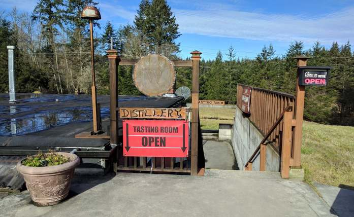 Whidbey Island Distillery Bunker - Red wine and chocolate overload on the Whidbey Island Wine Trail - LiveRecklessly.com