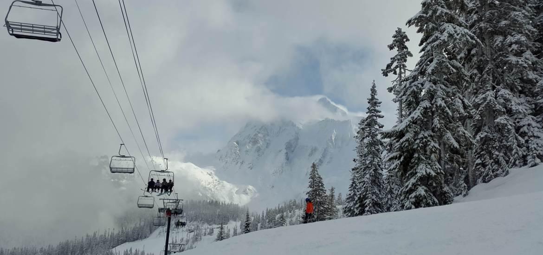 Ski Mt Baker Washington USA - epic snow, wild terrain and no crowds. www.liverecklessly.com