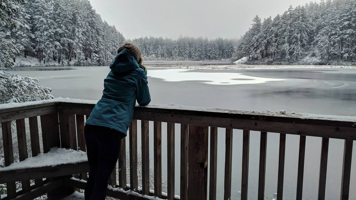 February Expat Escapades 2017 Snow in Anacortes Fidalgo Island Cranberry Lake - Live Recklessly