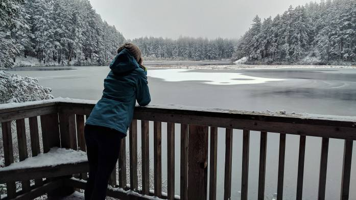 Expat Escapades February 2017: Snow in Anacortes Fidalgo Island Cranberry Lake - Live Recklessly