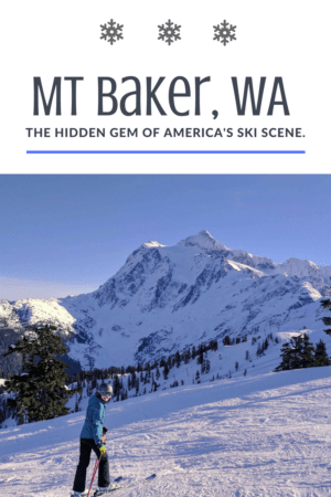 Have you heard of Mt Baker, Washington? Mt Baker Ski Area is the true hidden gem of America's ski scene. It ticks all the boxes: epic snow, wild terrain, friendly vibe, affordable and next to no crowds! Read more at www.liverecklessly.com