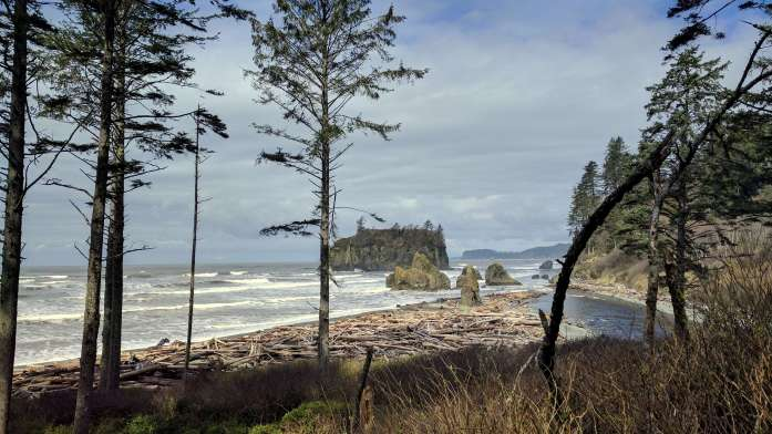Ruby Beach Washington landscape - An Olympic National Park road trip - Live Recklessly