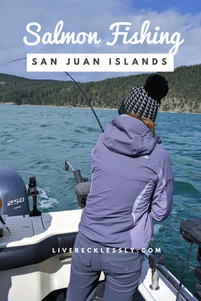 The PNW is a seafood mecca, so salmon fishing in the San Juan Islands seemed like the ultimate activity. A beautiful day in one of Washington State's most beautiful locations. Read more at www.liverecklessly.com
