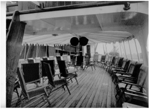 DA in 1936 Prom deck looking fwd Credit DAPS