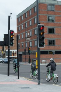 Leeds Street-Vauxhall Road junction