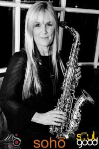 Claire Manners Saxophonist at Soho Christchurch
